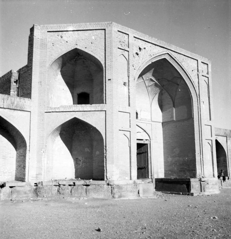Caravansérail Tchâh-e-siyâh now, le portail