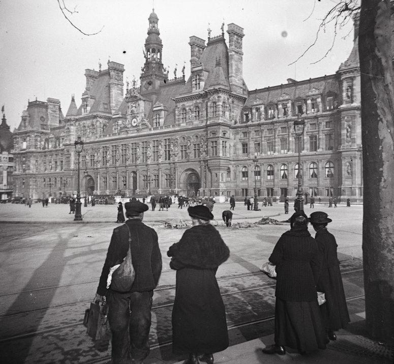 Hôtel de ville vers 1910