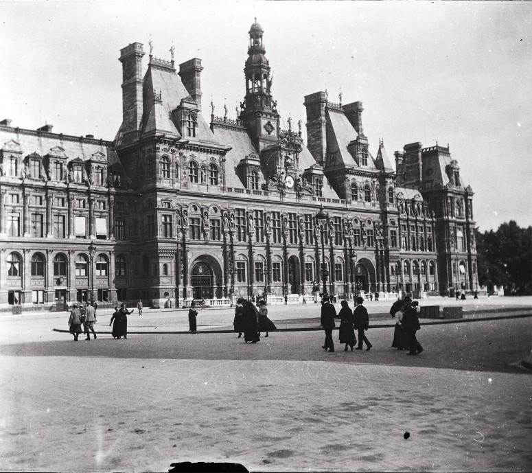 Hôtel de ville vers 1900