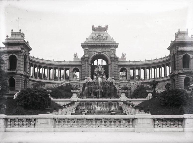 Marseille, le Palais Longchamp