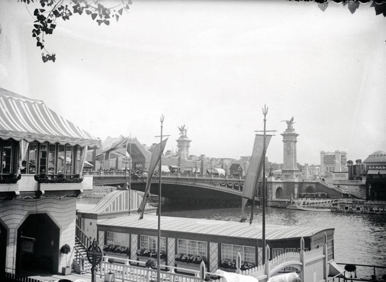 Le pavillon britannique