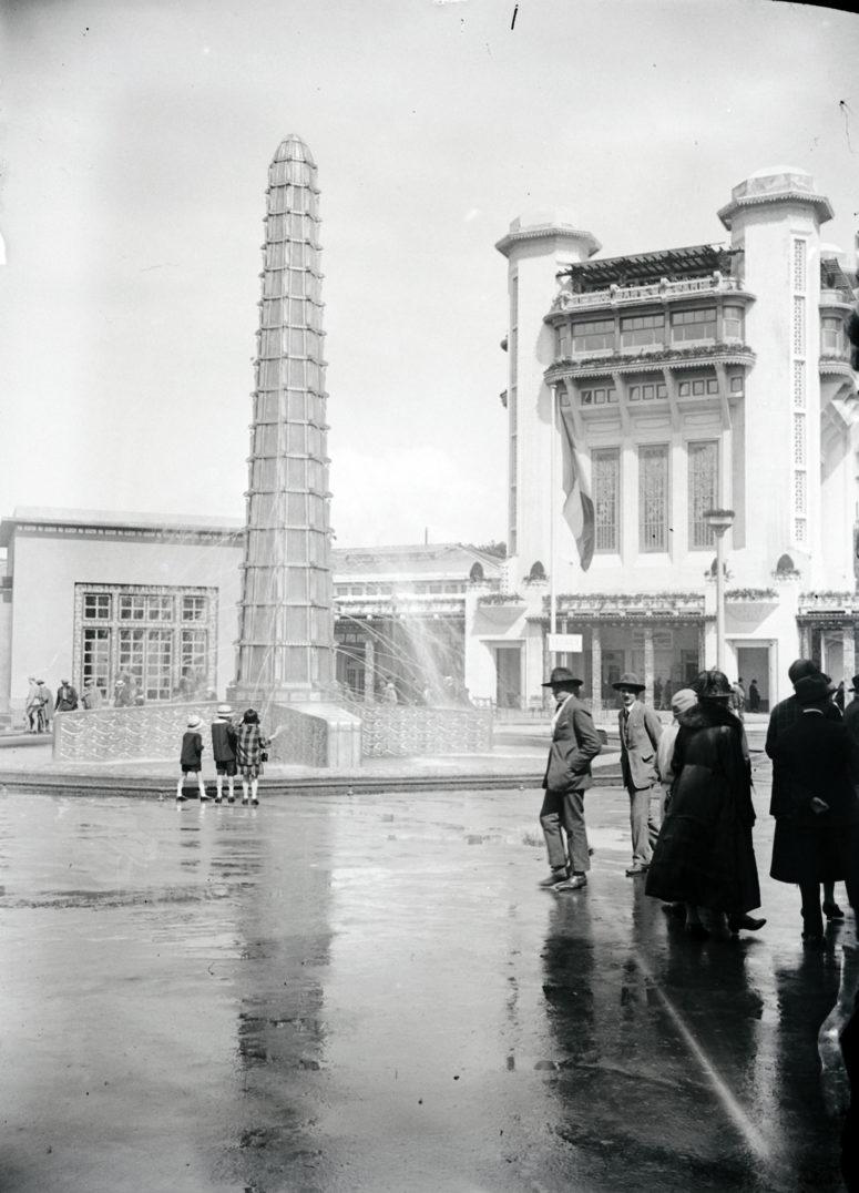 Fontaine Lalique et La Tour de Champagne