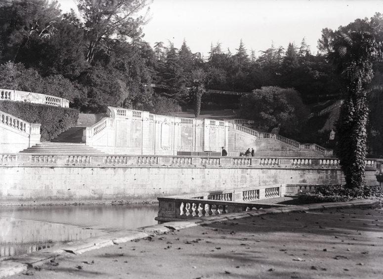 Nîmes, les Jardins de la Fontaine