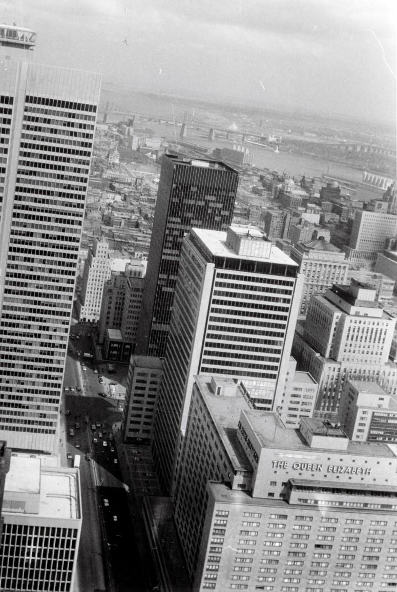 Montréal : le bd Dorchester