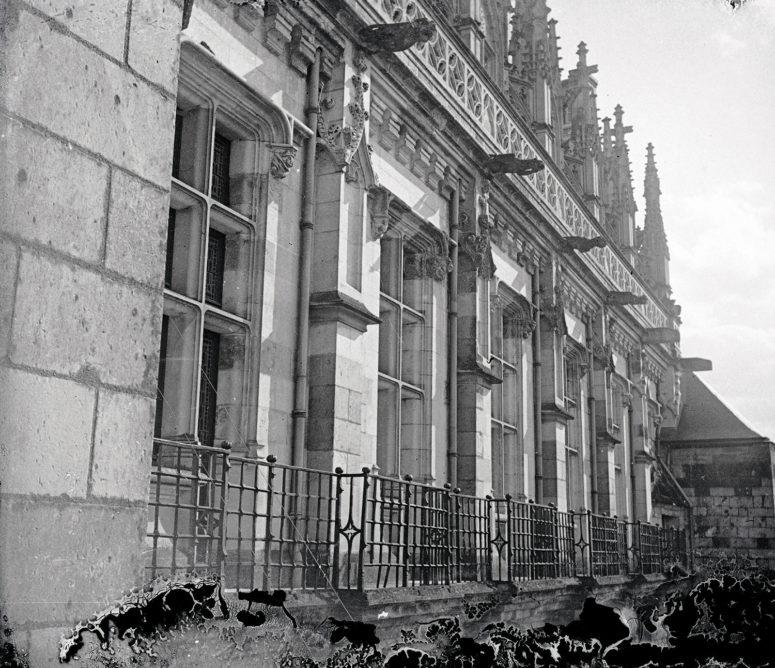 Château d'Amboise - balcon des protestants