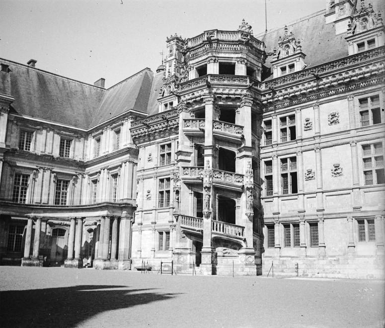 Château de Blois, escalier François Ier