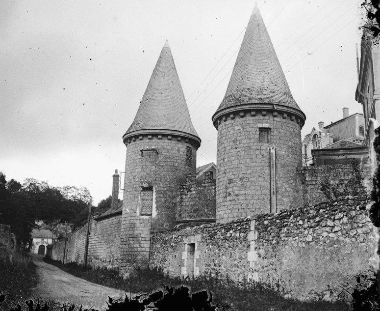 Tours, abbaye de Marmoutier