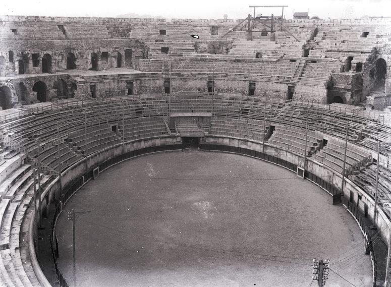 Les arènes, Nîmes