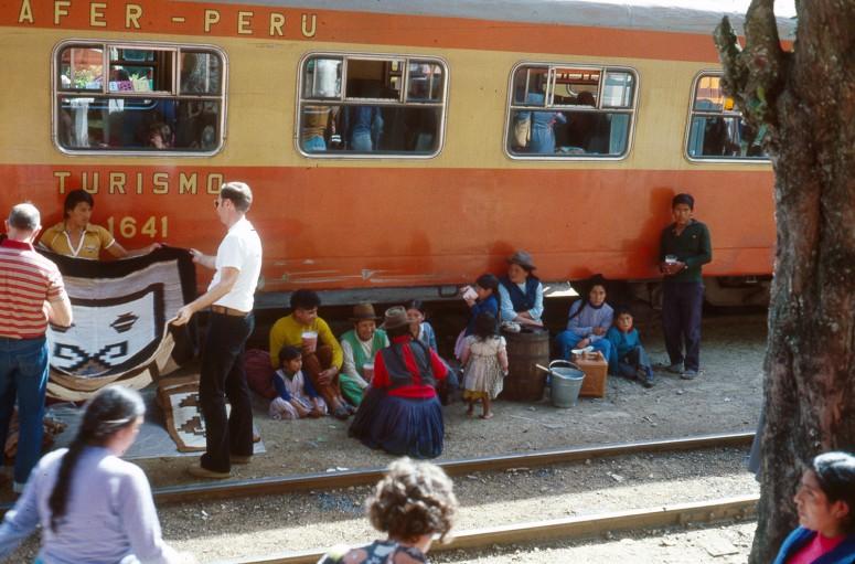 Train péruvien