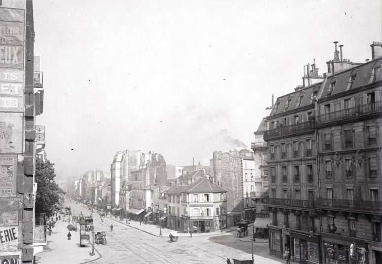 Le Fb St-Antoine et la pointe de la Rue des Boulets et de la Rue de Chevreul