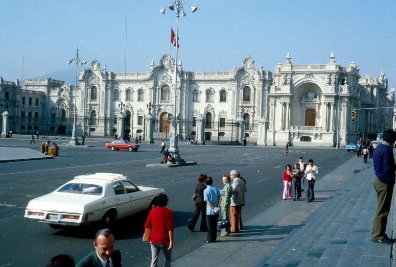 Lima, palais présidentiel