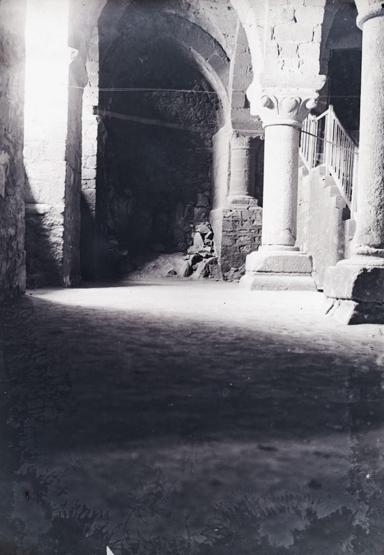 crypte de l'Aquilon - Mont St Michel