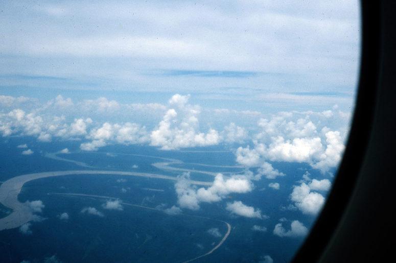 Parc de Manu vu d'avion