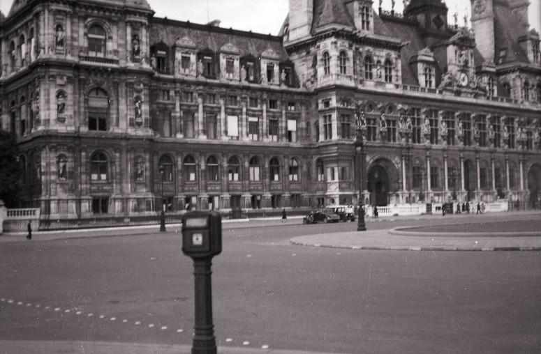 Hôtel de ville vers 1940