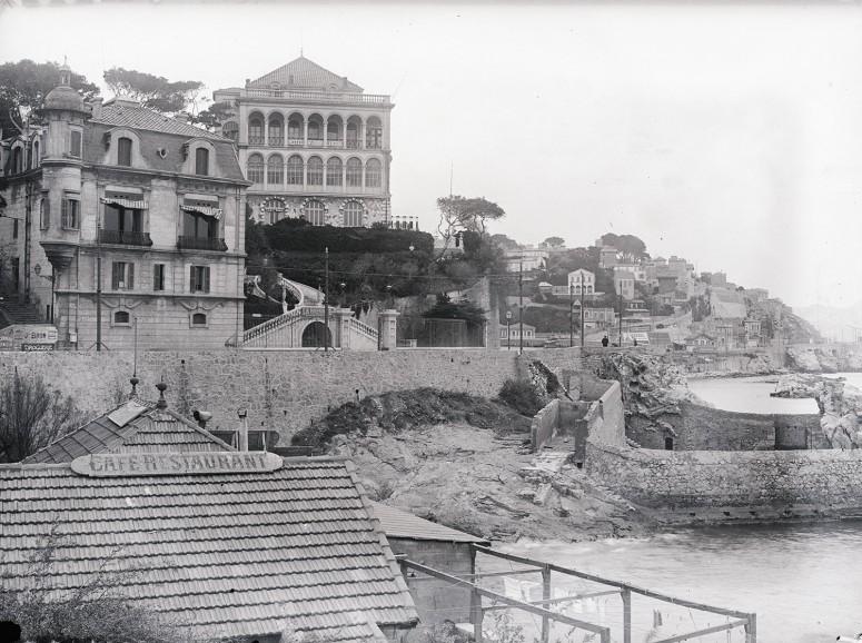 La Corniche et le restaurant La Réserve - Marseille
