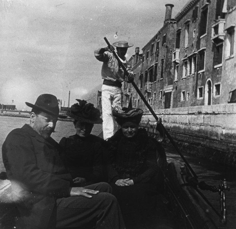 Venise - En gondole sur la lagune