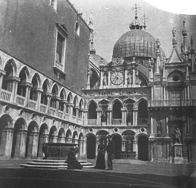 Cour intérieure dans le Palais des Doges