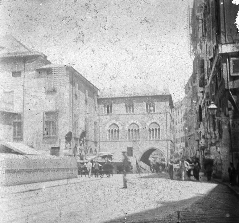 Gênes - Une rue
