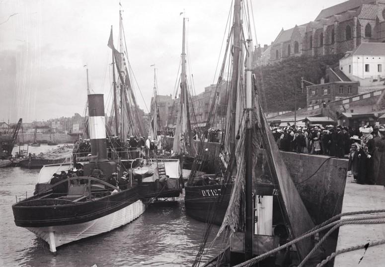 Le steamer Picardie débarque ses passagers
