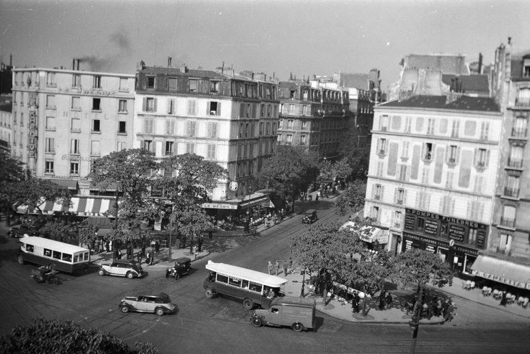 La place Gambetta (XXe arrdt)