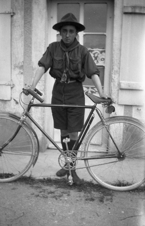 Le vélo de scout de Michel