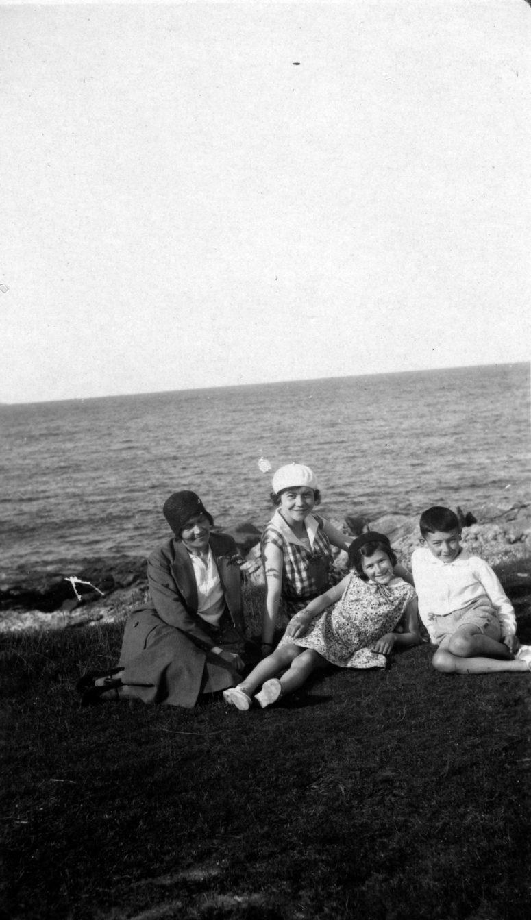 Ploumanach 9 août 1931