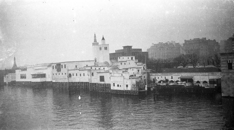 Pavillons de la Tunisie et de l'Algérie