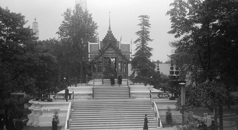 Le pavillon du Siam