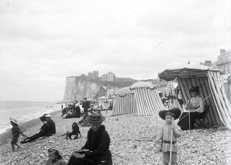 Cabines sur la plage