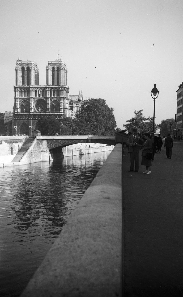 Notre-Dame et la Seine