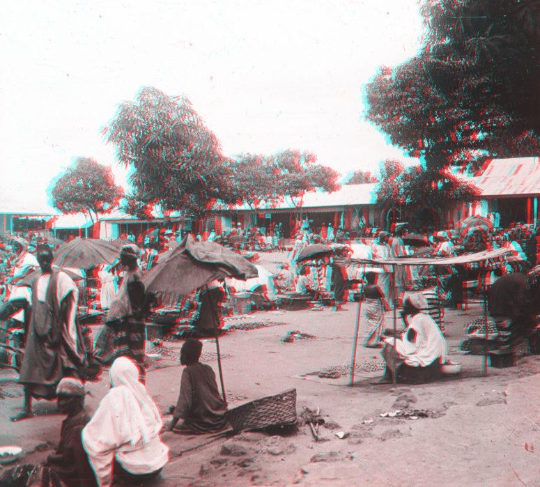 Guinée : marché de Kindia