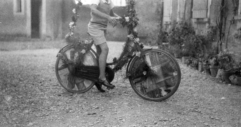 Mon beau vélo fleuri