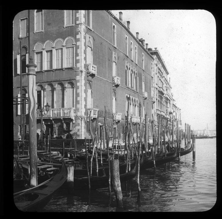 Les palais sur le Grand Canal