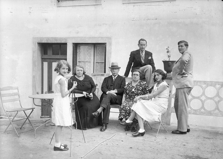Photo de famille - années 30 — Le chronoscaphe
