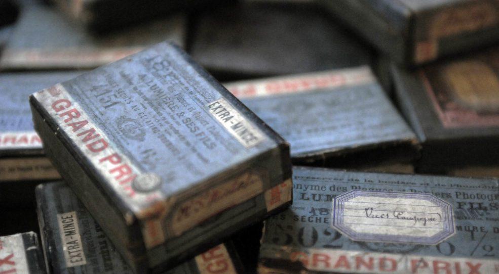 Les plaques au gélatino-bromure d'argent
