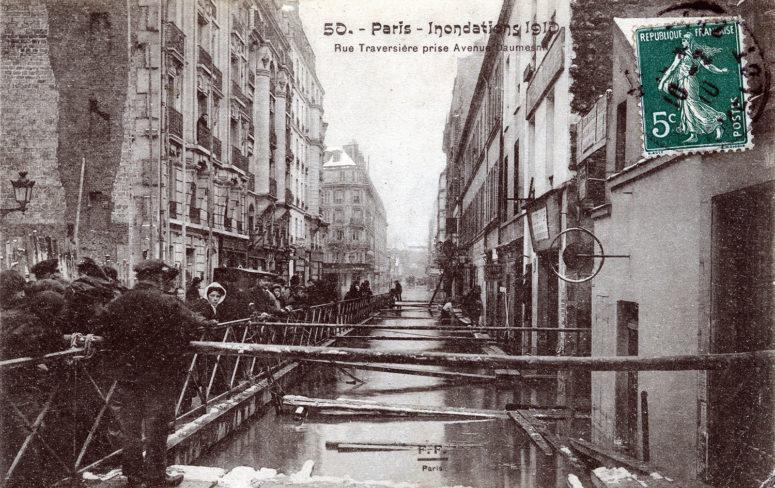 Rue Traversière prise Avenue Daumesnil