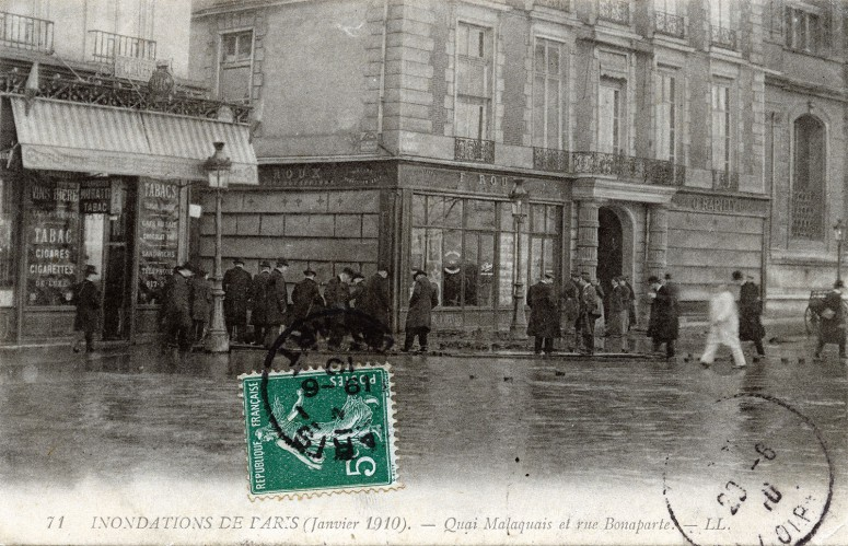Quai Malaquais et Rue Bonaparte
