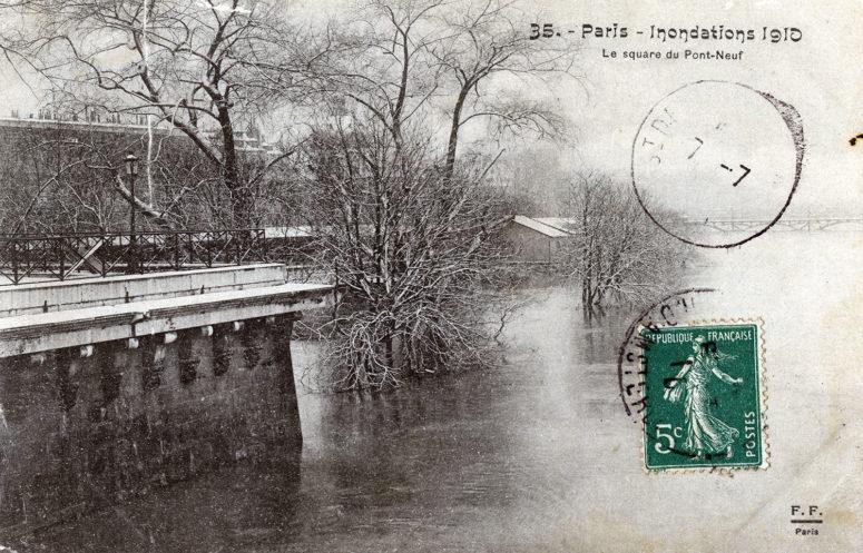 Le Square du Pont-Neuf