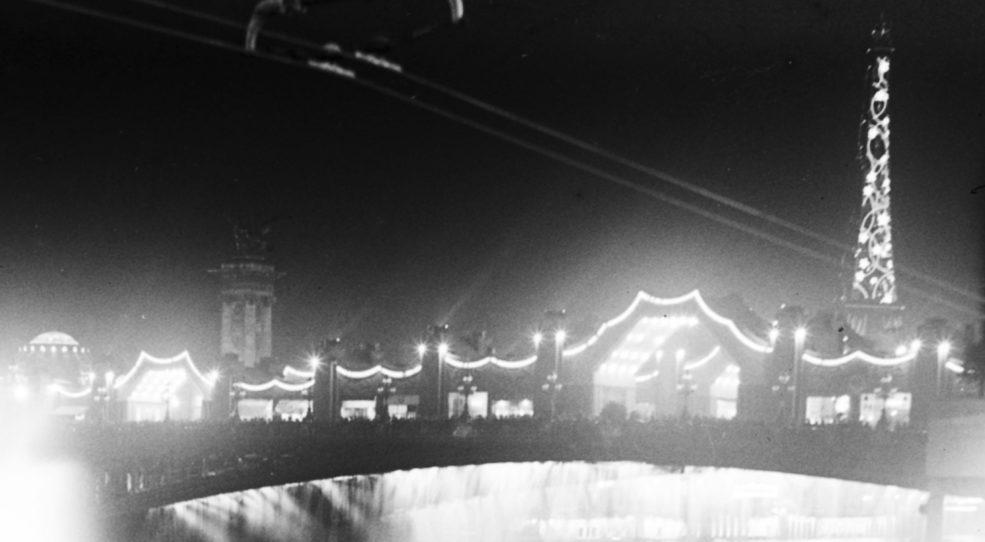 Paris la nuit, 1925