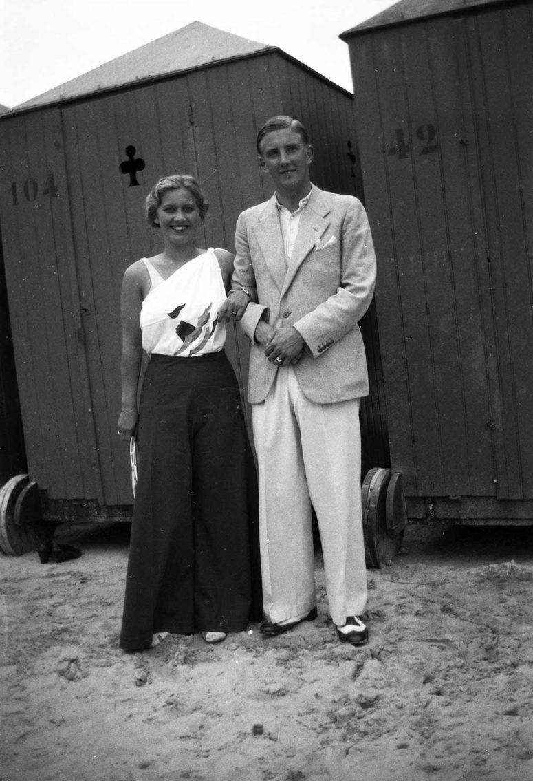 Pantalons larges en couple et très élégants !