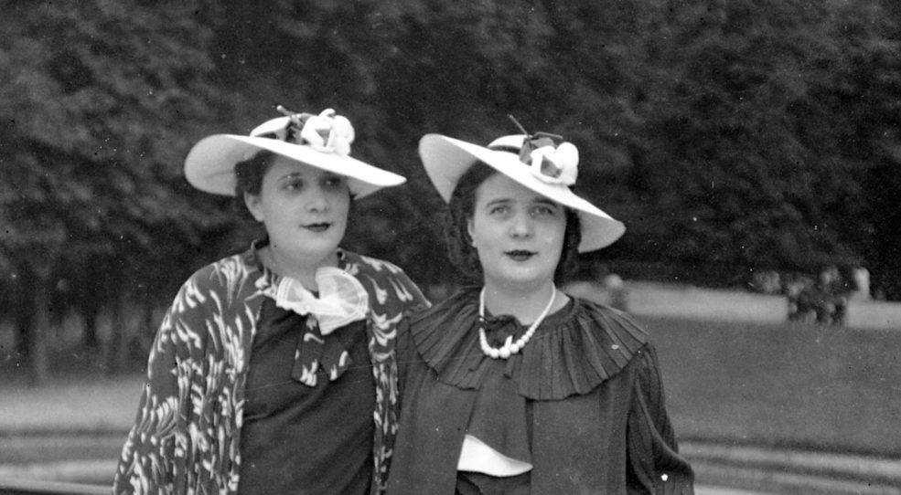 Les chapeaux dans les années 30