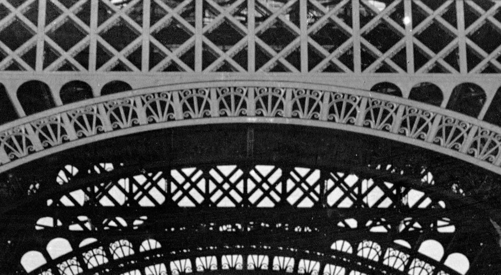 La Tour Eiffel, le Palais du Trocadéro