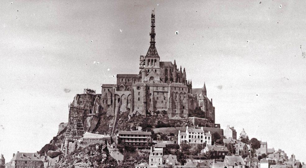 La restauration de l'Abbaye du Mont Saint-Michel