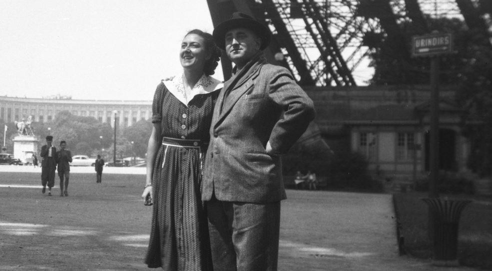 Visiter Paris dans les années 50