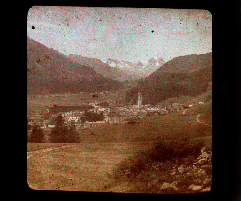 Samedan, district de Maloja. [Suisse]