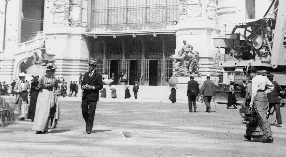 Exposition 1900 : le Palais des Mines et de la Métallurgie