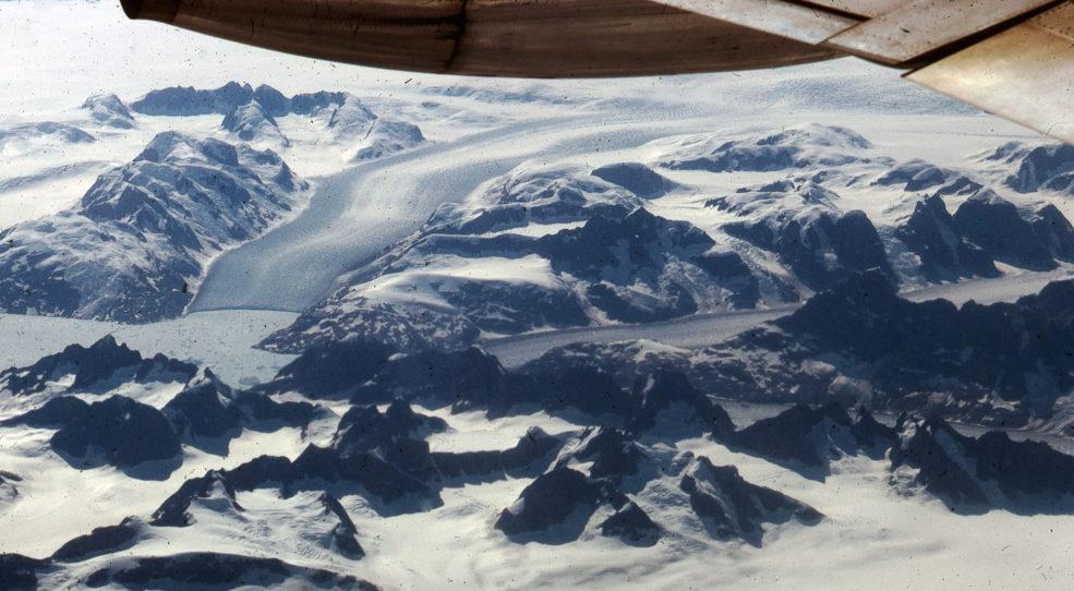 Vues d'en haut : la glace