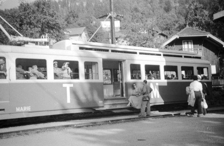 Le Tramway du Mont-Blanc – années 50
