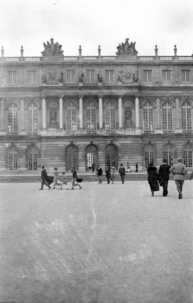 Versailles, jour de grand vent