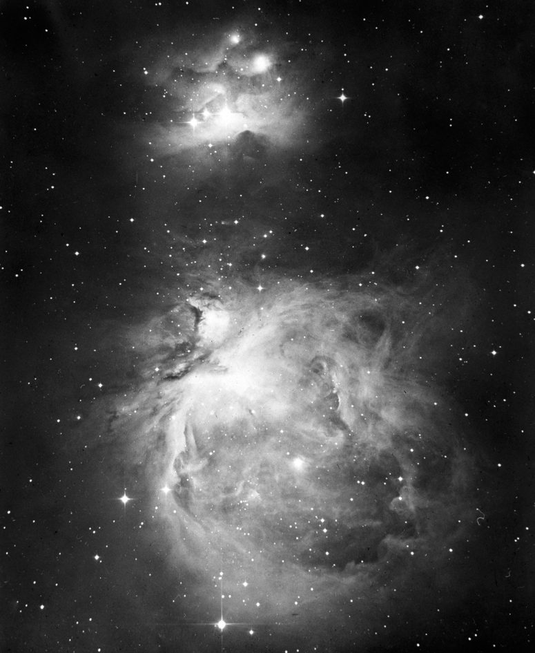 NGC 1976, 1977 Great Nebula in Orion - Lick Observatory Mayall 1938 February 25
